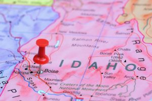 Idaho Real Estate Map of Area